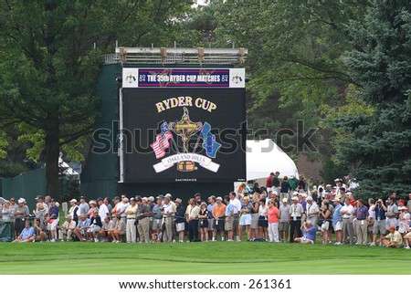 Ryder Cup Sign