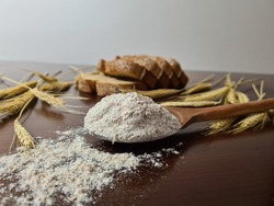 Rye flour perfect for delicious artisan bread recipes.