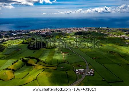 São Miguel - Azoren from above #1367431013