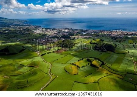 São Miguel - Azoren from above #1367431016