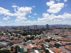 São Paulo . Moóca, Tatuapé and Anália Franco. city view,