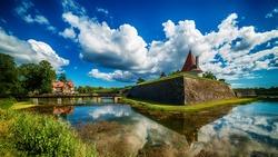 Saarema Island, Estonia: Kuressaare Episcopal Castle