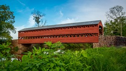 Sachs Covered Bridge in Gettysburg Pennsylvania