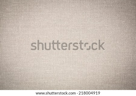 sackcloth textured background - Shutterstock ID 218004919
