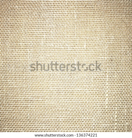 Sacking fabric background