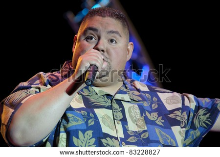 SACRAMENTO, CA - AUG 20: Gabriel Iglesias performs at Thunder Valley Casino in Lincoln, California on August 20th, 2011