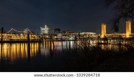 Sacramento, CA Skyline #1039284718
