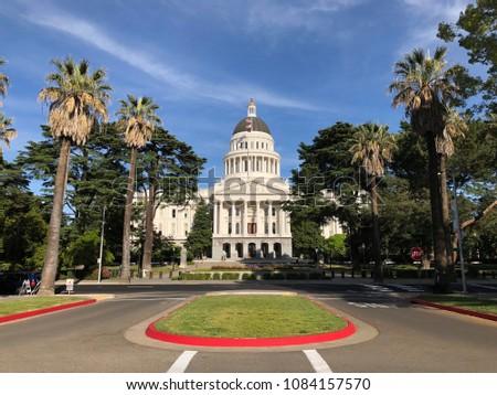 Sacramento California Capital Building #1084157570