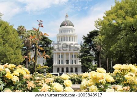 Sacramento California, state capital #1005848917
