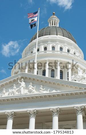 Sacramento Capitol Building in California