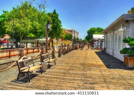 Sacramento Walks, California shots, USA #451110811