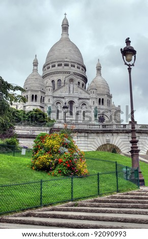 Sacre-Coeur basilica (Basilica of the Sacred Heart of Jesus), Paris