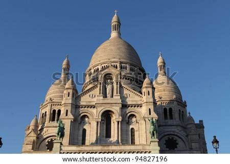 Sacre Coeur, Paris - stock photo