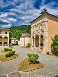 Sacred Mountain of Varallo, Varallo Sesia, Piedmont, Italy