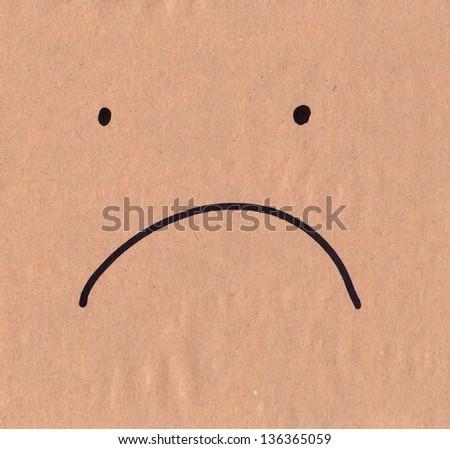 Sad face (schematic)