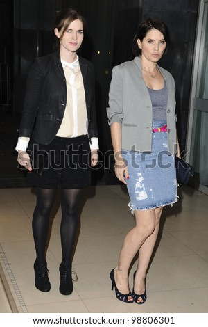 Sadie Frost and Jade Davidson arriving for the Rodila Beautiful Awards, at the Sanderson Hotel, London. 06/03/2012 Picture By: Steve Vas / Featureflash - stock photo
