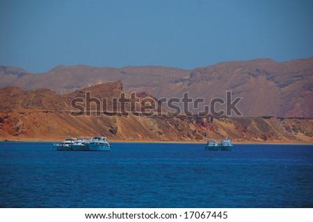 safari boat in the redsea
