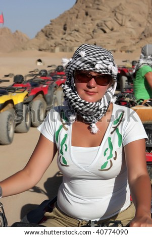 Safari Tours by quad bike in Egypt