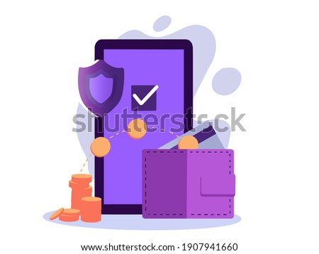 Safe payout concept. Payroll, annual bonus, income, payout. Stock photo ©