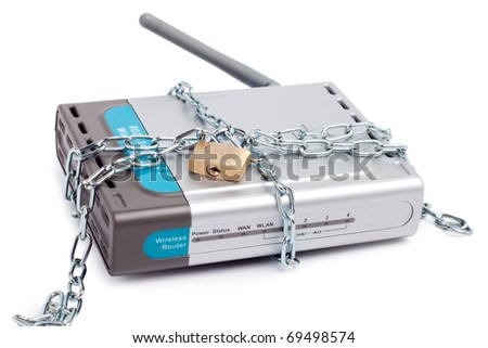 Safe wireless router