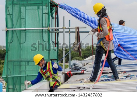 Safety at work For good work and success