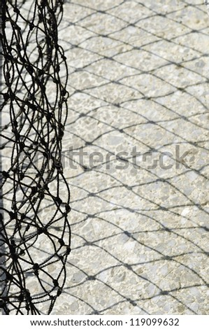 Safety Net  on the Playing Field