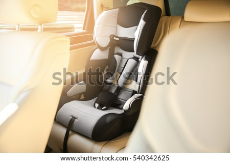 Safety seat for baby in car