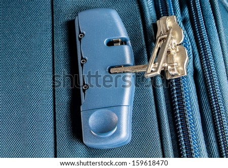 Safety suitcases with lock