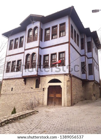 Safranbolu house, historic mansion historic architecture