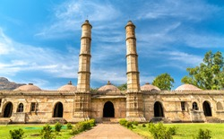 Sahar Ki Masjid at Champaner-Pavagadh Archaeological Park. A UNESCO world heritage site in Gujarat, India