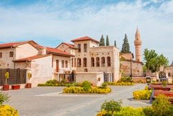 Sahinbey neighborhood with Old stone streets of Gaziantep, Turkey - (Sehrekustu mansions)