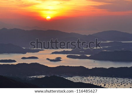 Sai Kung at morning, Hong Kong