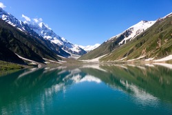 Saiful Malook Lake, Kaghan Valley, Pakistan.