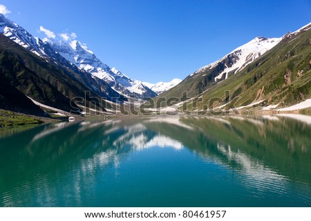 Saiful Malook Lake, Kaghan Valley, Pakistan. #80461957