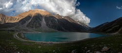 Saiful Muluk is a mountainous lake located at the northern end of the Kaghan Valley, near the town of Naran in the Saiful Muluk National Park lakes in northern areas of gilgit Baltistan ,Pakistan