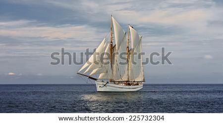 Sail Boat. Sailing ships Collection