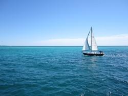 Sailboat at Destin