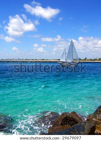 Sailboat in Florida