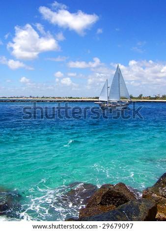 Sailboat in Florida