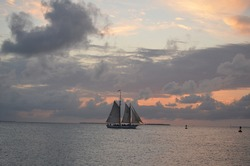 Sailboat in Keywest