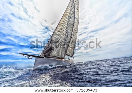sailboat, sailing