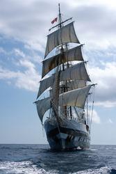 Sailboat, Tall Ship a way to travel across the seven seas
