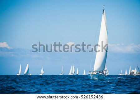 Sailboats in the sea #526152436