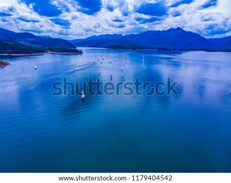Sailboats on Lake Dillon, Colorado