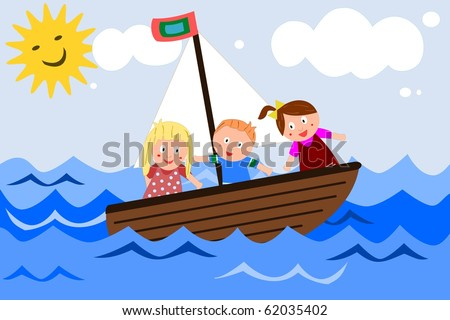 Sailing children