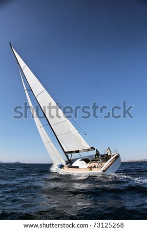 Sailing on Ad5riatic See
