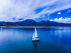 Sailing on Lake Dillon, Colorado