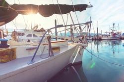 Sailing yacht equipmen sport watersport theme