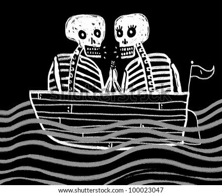 sailors skeletons lovers