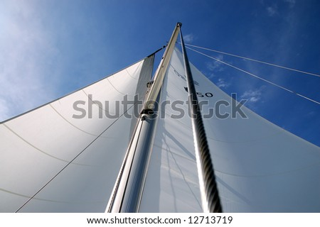 Sails on a sunny day